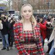 Sydney Sweeney - Arrivées au défilé de mode prêt-à-porter automne-hiver 2020/2021 Balmain à Paris le 28 février 2020.
