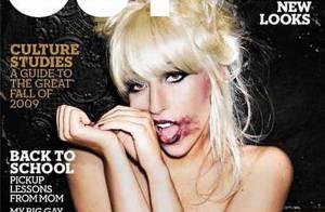 Lady GaGa, toute nue en couverture du plus populaire des magazines gay !