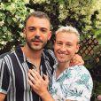Matthew Mitcham et son mari Luke Rutherford, sur Instagram, le 2 juin 2019.