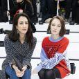Deniz Gamze Ergüven et Diane Rouxel assistent au défilé Chanel collection prêt-à-porter Automne/Hiver 2020-2021 au Grand Palais. Paris, le 3 mars 2020. © Olivier Borde/Bestimage