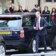 Le prince William, duc de Cambridge - La famille royale d'Angleterre à son arrivée à la cérémonie du Commonwealth en l'abbaye de Westminster à Londres. Le 9 mars 2020.