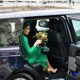 Meghan Markle, duchesse de Sussex - La famille royale d'Angleterre à la sortie de la cérémonie du Commonwealth en l'abbaye de Westminster à Londres. Le 9 mars 2020.