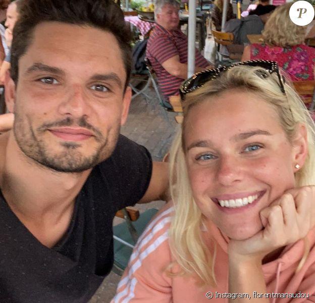 Florent Manaudou a révélé son histoire d'amour avec Pernille Blume le 14 février 2020 sur Instagram.
