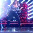Isilde et Toni s'affrontent lors des battles de The Voice 2020 - Talents d'Amel Bent. Emission du samedi 14 mars 2020, TF1