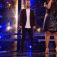 Rhiad et Mareva s'affrontent lors des battles de The Voice 2020 - Talents de Amel Bent. Emission du samedi 14 mars 2020, TF1