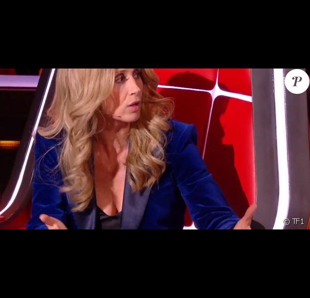 Lara Fabian et Pascal Obispo en plein désaccord lors des battles de The Voice 2020 - Emission du samedi 14 mars 2020, TF1