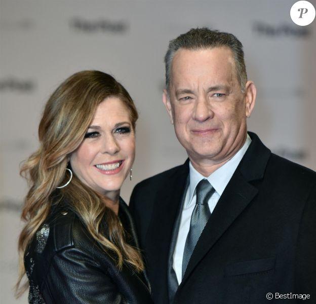 Tom Hanks et sa femme Rita Wilson - Première du film The Post au cinéma Odeon Leicester Square à Londres, Royaume Uni, le 10 janvier 2018.