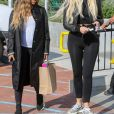 Exclusif - Malika Haqq et Khloé Kardashian à Malibu. Le 7 novembre 2019.