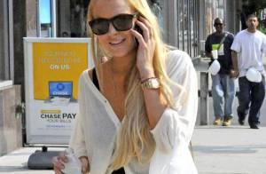 Lindsay Lohan : elle a retrouvé ses kilos et son sourire mais a... oublié son sens du style au vestiaire ! C'est moche !
