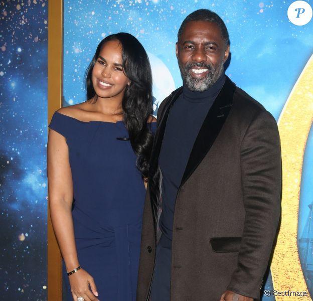 Idris Elba et sa femme Sabrina Dhowre Elba à la première de Cats au Lincoln Center à New York, le 16 décembre 2019