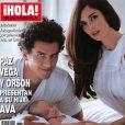 La très belle Paz Vega... avec son adorable Ava et son mari Orson Salazar en couverture de  Hola  !