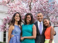 Michelle Obama confinée avec ses filles : elle raconte ses journées