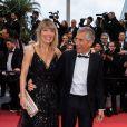 """Nagui et sa femme Mélanie Page - Montée des marches du film """"Douleur et Gloire"""" lors du 72ème Festival International du Film de Cannes. Le 17 mai 2019 © Borde / Bestimage"""