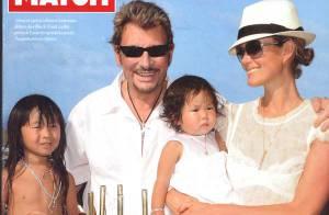 Johnny Hallyday et Laeticia à Saint-Barth fêtent l'anniversaire de leurs filles : le bonheur et... c'est tout !