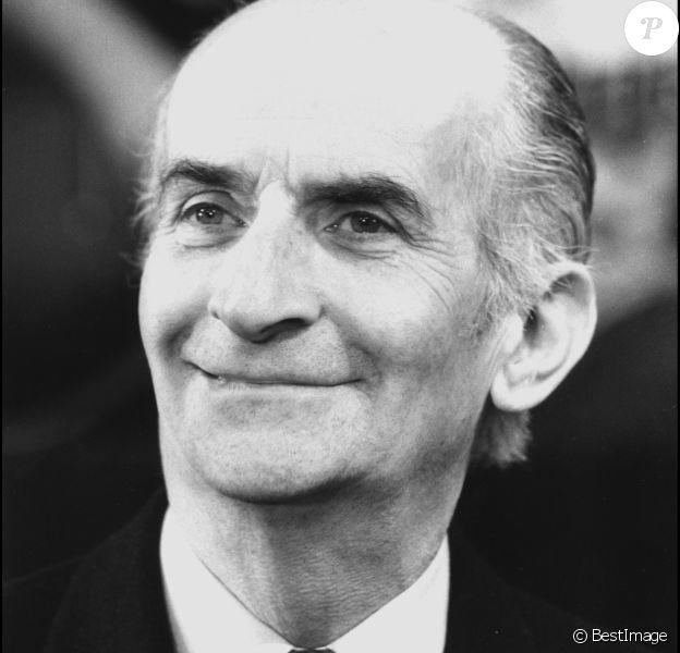 Louis de Funès en 1981 à Paris.