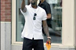Kanye West : il pète un plomb dans la rue quand... on s'intéresse à sa fiancée !