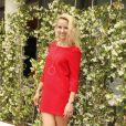 Elodie Gossuin-Lacherie -People au village lors des internationaux de tennis de Roland Garros le 28 mai 2018.