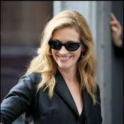 La resplendissante Julia Roberts... déborde d'élégance et de classe en look rétro !