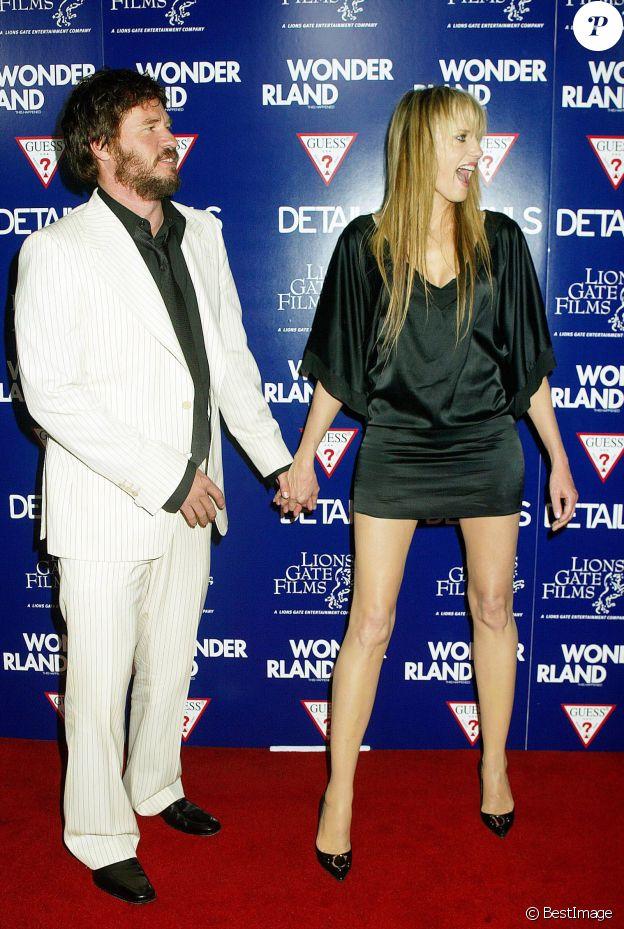 Val Kilmer et Daryl Hannah à Los Angeles en 2003.