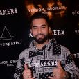 "Exclusif - Kendji Girac - Eleven Paris présente ""Artmakers"" aux Salons Hoche à Paris le 27 novembre 2019. Elevenparis présente une nouvelle collaboration avec le styliste A. Travia, une collection de vêtements à l'esprit rock baptisée Artmakers. © Rachid Bellak/Bestimage ("