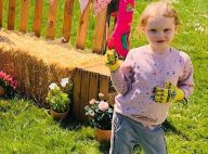 Charlene de Monaco : Photos de Jacques et Gabriella au jardin, prêts pour Pâques