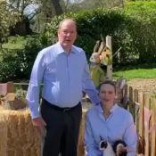 Charlene et Albert de Monaco, ensemble à Rocagel : vidéo de Pâques au jardin