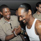 Usher et Snoop Dogg... très chauds à Saint-Tropez !