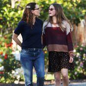 Jennifer Garner : Sans masque avec sa fille, Ben Affleck hypnotisé par sa chérie