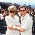 Le prince Charles et Diana en voyage Egypte en 1982.