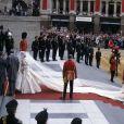 Mariage de Lady Diana avec le prince Charles à Londres en 1981.