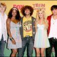 """Le casting du film """"High School Musical"""" à Los Angeles en 2006."""