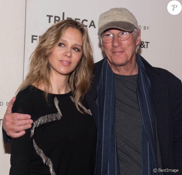 Alejandra Silva et Richard Gere lors de la projection du film 'It Takes A Lunatic' à l'occasion du Tribeca Film Festival à New York, le 3 mai 2019.