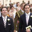 Les princes Guillaume (gauche) et Felix de Luxembourg accepteront-ils le challenge télévisuel ?