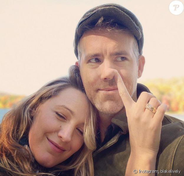 Blake Lively et son mari Ryan Reynolds sur Instagram, le 24 octobre 2019.