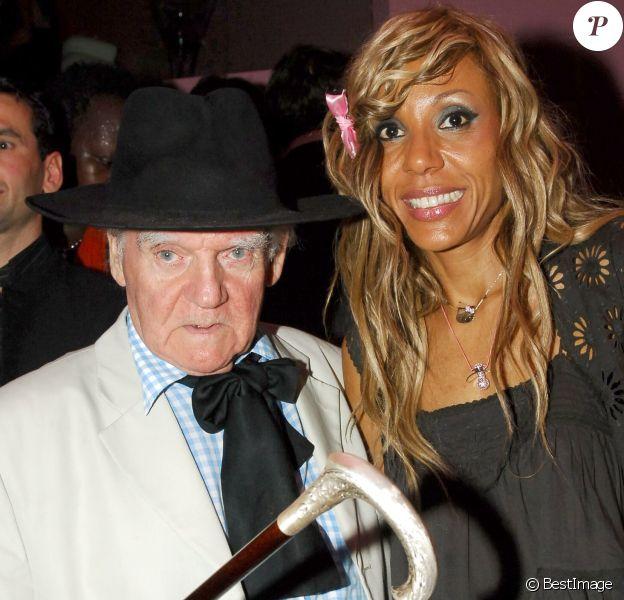 Rétro - Décès d'Yves Corbassière -Yves Corbassière et Cathy Guetta à Paris en juin 2005.