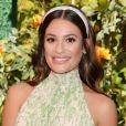 """Lea Michele au photocall de la 10ème édition de la soirée """"Veuve Cliquot Polo Classic"""" à Los Angeles, le 5 octobre 2019."""