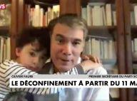 Olivier Faure : Craquante irruption de son fils en plein direct à la télévision