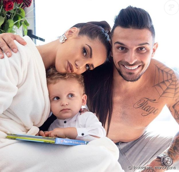 Manon Marsault avec Julien Tanti et Tiago sur Instagram le 15 mars 2020