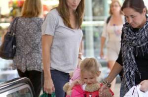 Jennifer Garner : sa fille Violet... est une vraie petite maman !