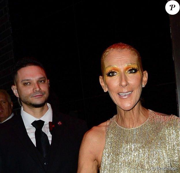 Celine Dion et Pepe Muñoz - Les célébrités arrivent à l'after party du Met Gala à l'hôtel Standard à New York, le 6 mai 2019