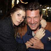Benjamin Castaldi et Aurore Aleman, couple masqué et stylé pour le déconfinement