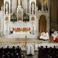 Messe de funérailles de Ted Kennedy en la basilique Notre Dame du Perpétuel Secours de Boston, le 29/08/09