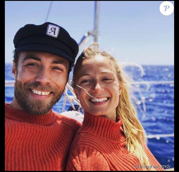 James Middleton publie pour la première fois une photo avec sa compagne Alizee Thevenet sur Instagram le 7 mai 2019.