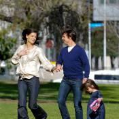 Tom Cruise et Katie Holmes : même quand ils font leur jogging, ça sonne faux !