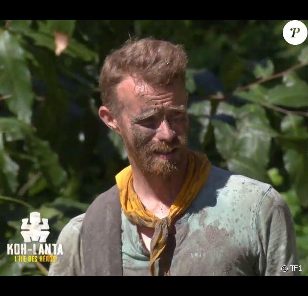 """Régis dans l'épisode de """"Koh-Lanta 2020"""" du 15 mai 2020, sur TF1"""