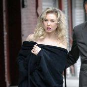 Quand Renée Zellweger pose entièrement nue... et en plein New York !