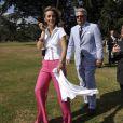 Le prince Laurent et la princesse Claire