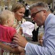 Le prince Laurent rencontre sa belle-soeur Mathilde