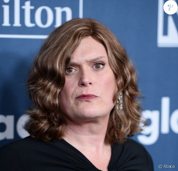 Lilly Wachowski aux Glaad Media Awards, le 2 avril 2016.