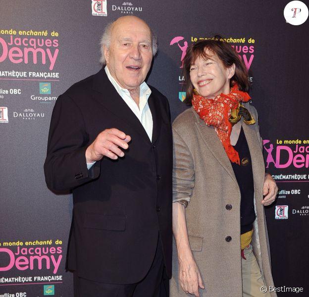 """Archives - Michel Piccoli, Jane Birkin - Soiree pour l'exposition """"Le monde enchanté de Jacques Demy"""" à la cinémathèque française à Paris le 8 avril 2013."""